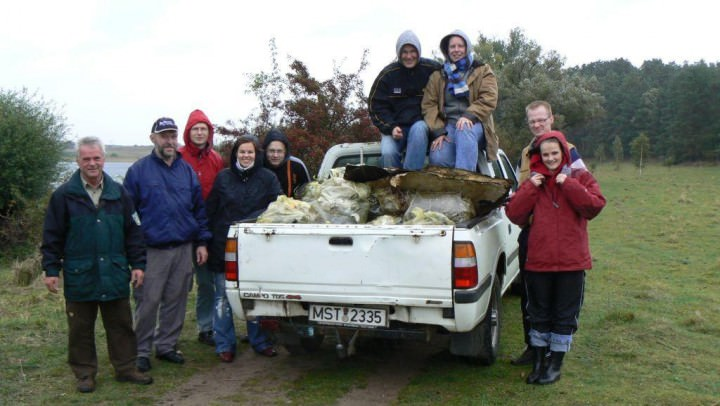 Freiwillige Helfer in Müritz-Nationalpark - Foto: Nationalparkamt Müritz