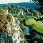 Naturpark Altmühltal in Bayern