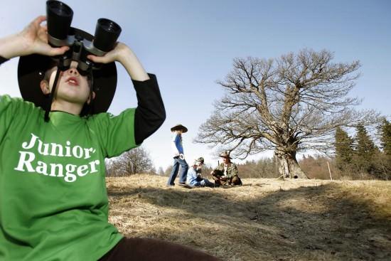 Junior-Ranger - Foto: Arnold Morascher